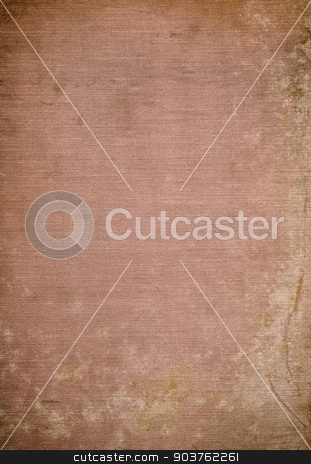 old fabric background stock photo, old canvas background with space for text or image by Suchota