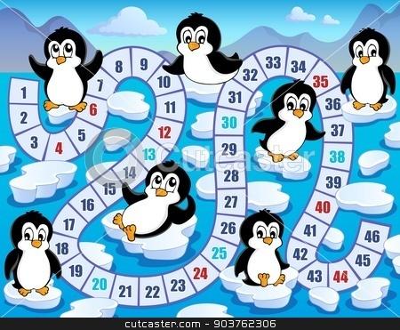 Board game theme image 4 stock vector clipart, Board game theme image 4 - eps10 vector illustration. by Klara Viskova