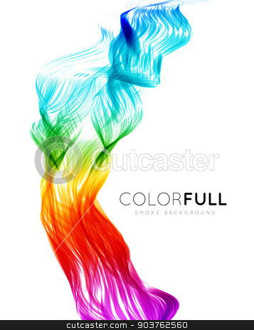 Abstract colorful background.  stock photo, Abstract colorful background. Spectrum wave. Vector illustration by sermax55