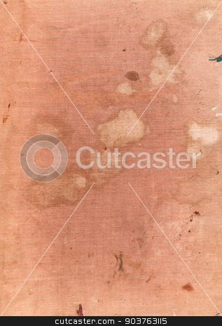 old beige fabric background stock photo, old beige book cover background with space for text or image by Suchota