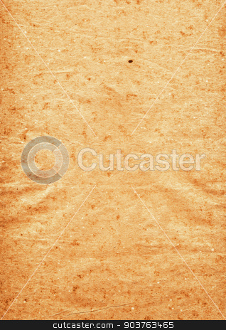 extra large old yellow paper background stock photo, very old grunge paper background with space for text or image by Suchota