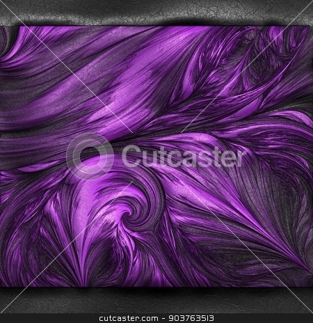 Luxury background with embossed pattern on leather stock photo, Luxury background with embossed pattern on leather for creative design work by Maria Repkova