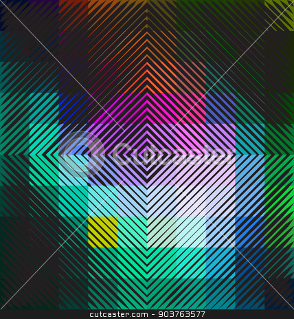 Colorful abstract technology background stock vector clipart, Colorful abstract technology background for creative design work by Maria Repkova