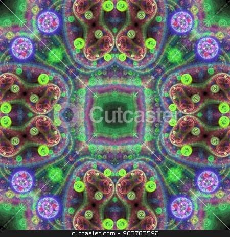 Kaleidoscope stock photo, Colorful kaleidoscopic patterns for your background by Dariusz Miszkiel