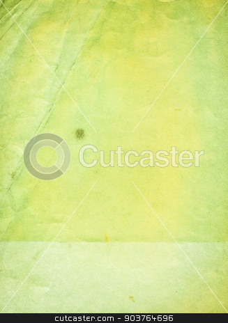 old green paper background stock photo, old paper background with space for text or image  by Suchota