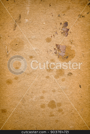 old paper stock photo, old brown paper background with space for text or image by Suchota