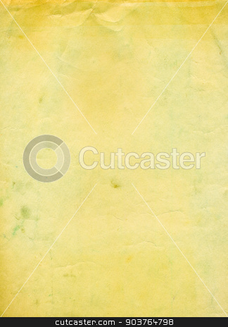old yellow paper background stock photo, old paper background with space for text or image  by Suchota
