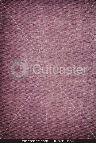 old violet fabric background stock photo, old book cover background with space for text or image by Suchota