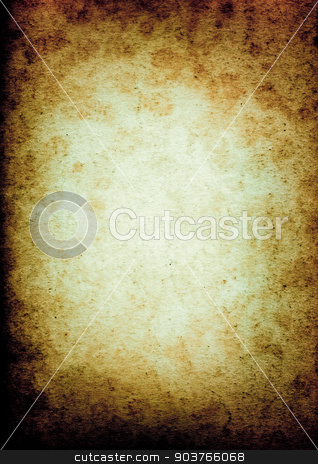 old rough paper background stock photo, old dark paper background with space for text or image  by Suchota