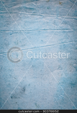 paper background stock photo, old blue paper background with space for text or image  by Suchota