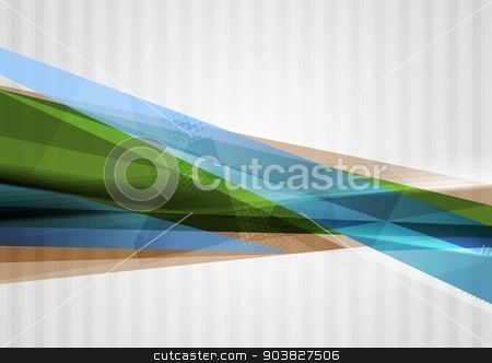 Bright concept modern abstract background stock vector clipart, Bright concept modern abstract background. Vector template by saicle