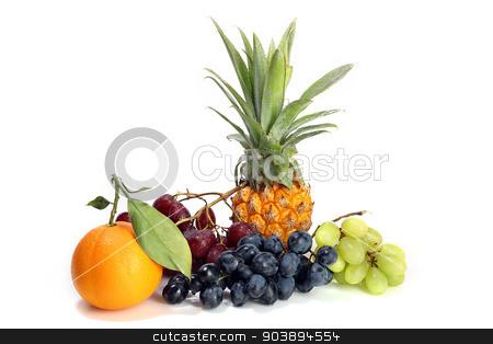 fruit mix stock photo, fresh fruit mix by Alexander