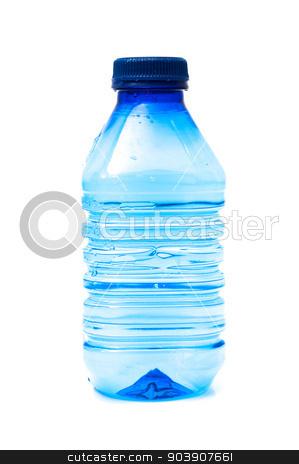 water bottle stock photo, water bottle on a white background by Arnau Ramos Oviedo