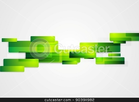 Green abstract hi-tech motion background stock vector clipart, Green abstract hi-tech motion background. Vector design by saicle