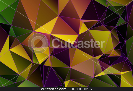 Abstract  geometric background. stock photo, Abstract  geometric background,polygonal multicolored pattern by ires007