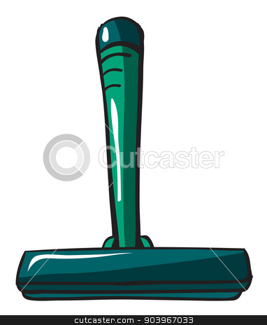 A shaver stock vector clipart, Illustration of a shaver on a white background by Matthew Cole