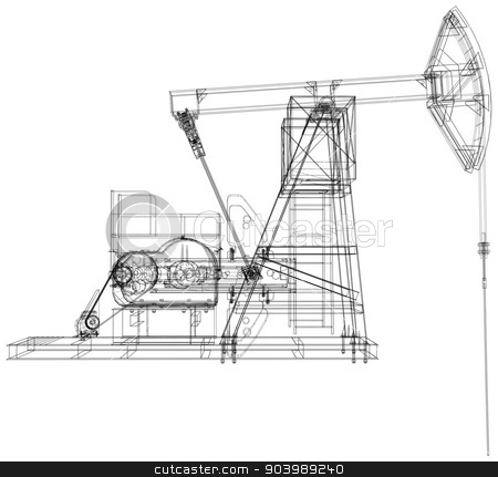 similar images: oil pump jack
