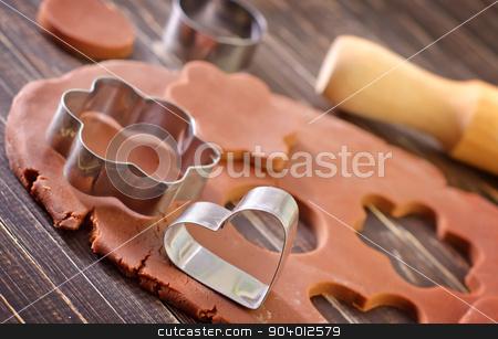 christmas baking background stock photo, christmas baking background by tycoon