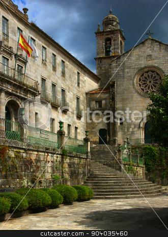 San Francisco Convent in Pontevedra stock photo, San Francisco Convent in Pontevedra by Mario Martinez