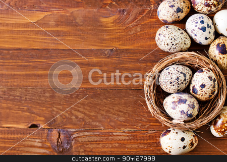 quail eggs stock photo, quail eggs by tycoon