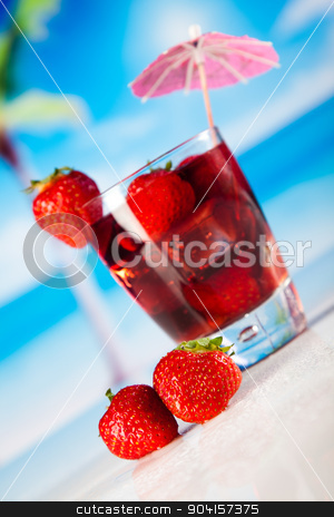 Alcoholic cocktails with fruits, natural colorful tone stock photo, Alcoholic cocktails with fruits, natural colorful tone by Sebastian Duda