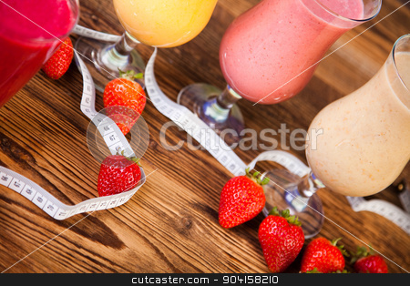 Healthy diet, protein shakes, sport and fitness stock photo, Healthy diet, protein shakes, sport and fitness by Sebastian Duda