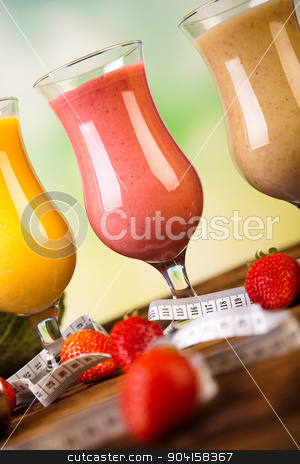 Smoothie diet, healthy and fresh stock photo, Smoothie diet, healthy and fresh by Sebastian Duda