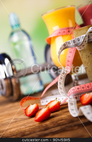 Dumbbell, healthy and fresh concept stock photo, Dumbbell, healthy and fresh concept by Sebastian Duda