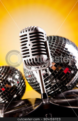 Music microphone, music saturated concept stock photo, Music microphone, music saturated concept by Sebastian Duda
