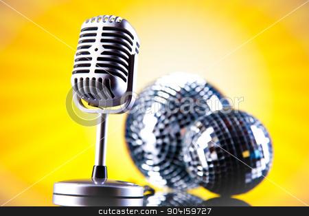 Music microphone, music saturated concept stock photo, Music microphone, music saturated concept by Sebastian Duda