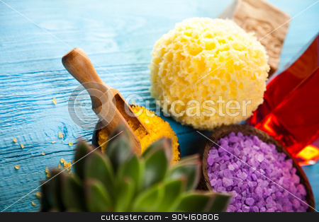 Spa accessories, fresh and organic concept stock photo, Spa accessories, fresh and organic concept by Sebastian Duda