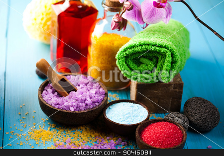 Orchids,organic products, Spa, fresh and organic concept stock photo, Orchids,organic products, Spa, fresh and organic concept by Sebastian Duda