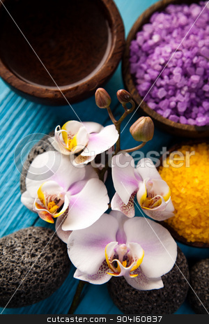 Spa still life background, fresh and organic concept stock photo, Spa still life background, fresh and organic concept by Sebastian Duda