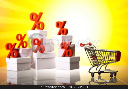 Concept of discount, financial concept stock photo, Concept of discount, financial concept by Sebastian Duda