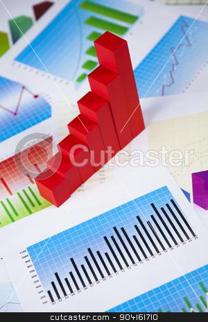 Finance concept, Percent, natural colorful tone stock photo, Finance concept, Percent, natural colorful tone by Sebastian Duda