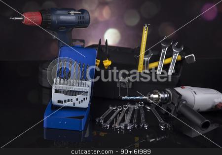 Construction tools, house renovation concept  stock photo, Construction tools, house renovation concept by Sebastian Duda