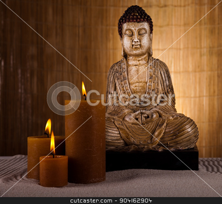 Buddha statue, vivid colors, natural tone  stock photo, Buddha statue, vivid colors, natural tone by Sebastian Duda