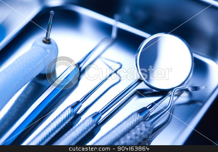 Stomatology health care, bright colorful tone concept stock photo, Stomatology health care, bright colorful tone concept by Sebastian Duda