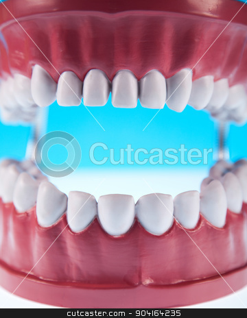 Tooth, bright colorful tone concept stock photo, Tooth, bright colorful tone concept by Sebastian Duda