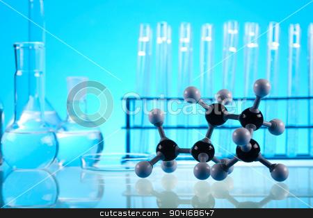 Laboratory equipment, bright modern chemical concept stock photo, Laboratory equipment, bright modern chemical concept by Sebastian Duda