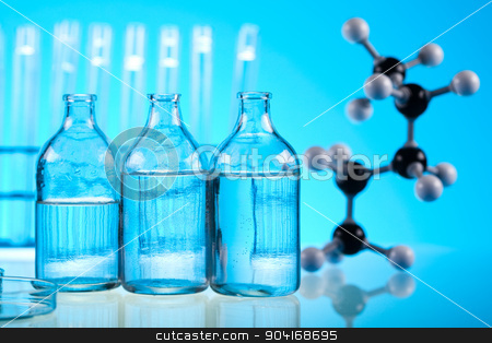 Research and experiments, bright modern chemical concept stock photo, Research and experiments, bright modern chemical concept by Sebastian Duda