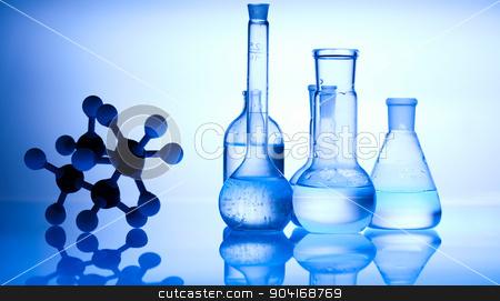 Chemistry, bright modern chemical concept stock photo, Chemistry, bright modern chemical concept by Sebastian Duda