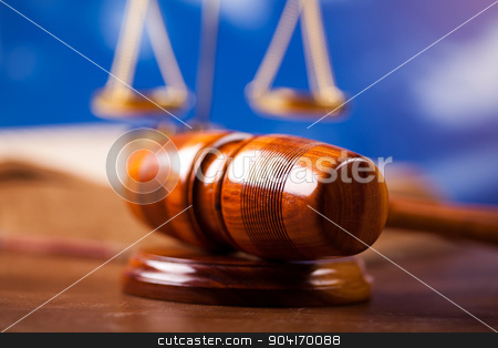 Judge gavel, ambient light vivid theme stock photo, Judge gavel, ambient light vivid theme by Sebastian Duda