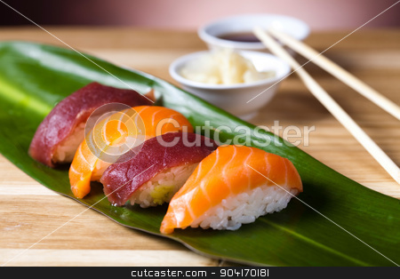 Sushi tasty traditional japanese food stock photo, Sushi tasty traditional japanese food by Sebastian Duda