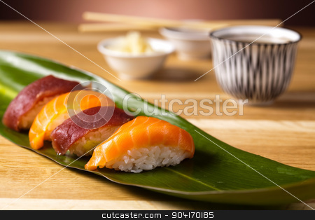 Sushi tasty traditional japanese food stock photo, Sushi tasty traditional japanese food by Sebastian Duda