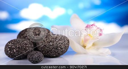 Zen stone, magical ambient atmosphere theme stock photo, Zen stone, magical ambient atmosphere theme by Sebastian Duda