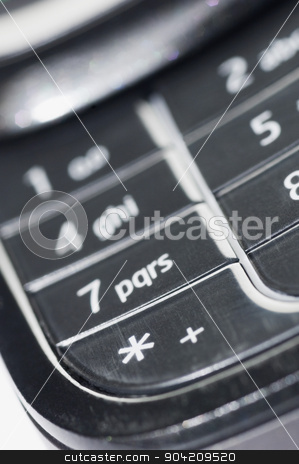 pims_20080927_sa0131 stock photo, Close-up of buttons of a mobile phone by imagedb
