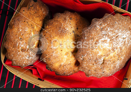 muffins  stock photo,   made homemade muffins , photographed close up by ihar leichonak