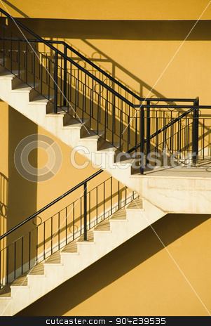 pims_20080607_ml0024 stock photo, Staircase of a building, Malta by imagedb