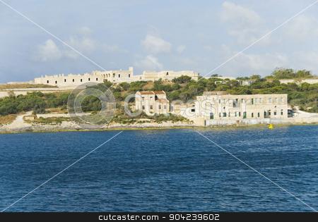 pims_20080607_ml0212 stock photo, Houses on an island, Valletta, Malta by imagedb
